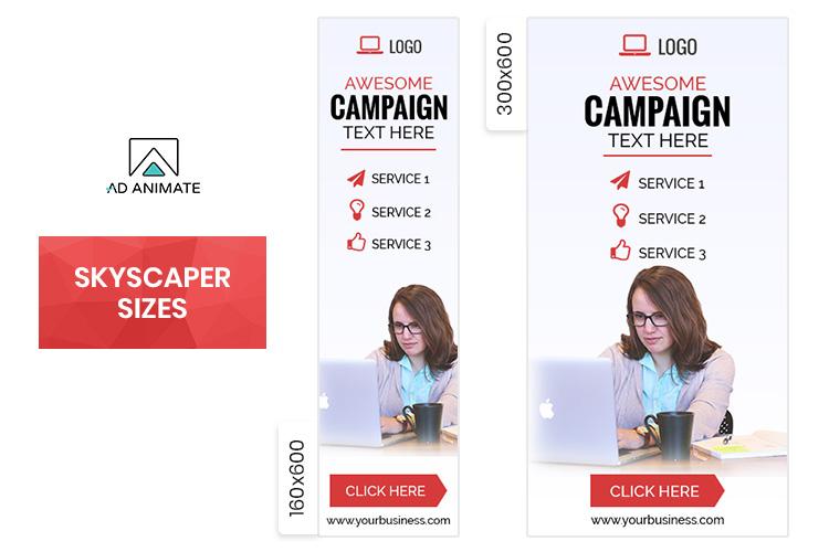 Multipurpose Animated Ad Banner Template -MU002 example image 3