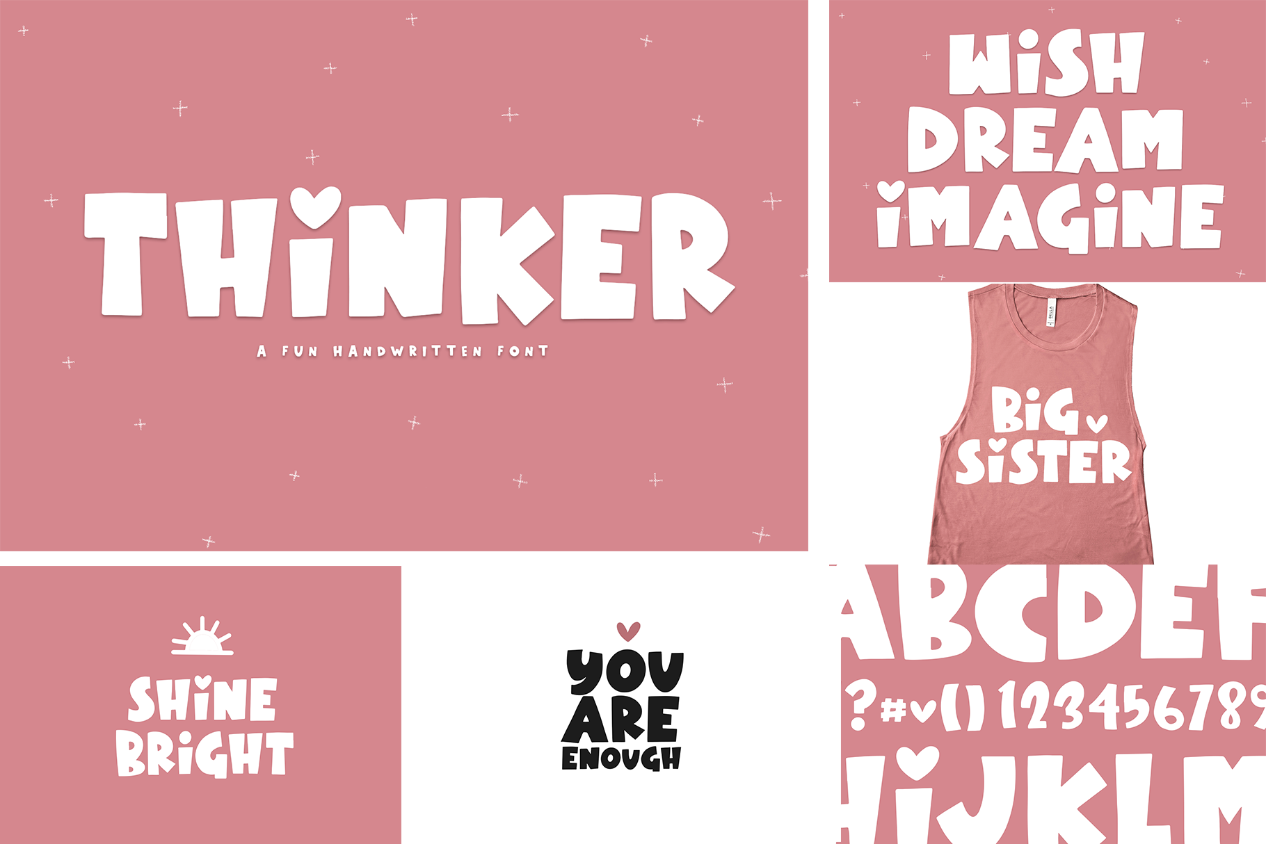 The Crafty Bundle - 14 Fun & Quirky Fonts example image 3