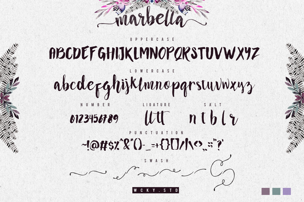 Marbella Typeface example image 6