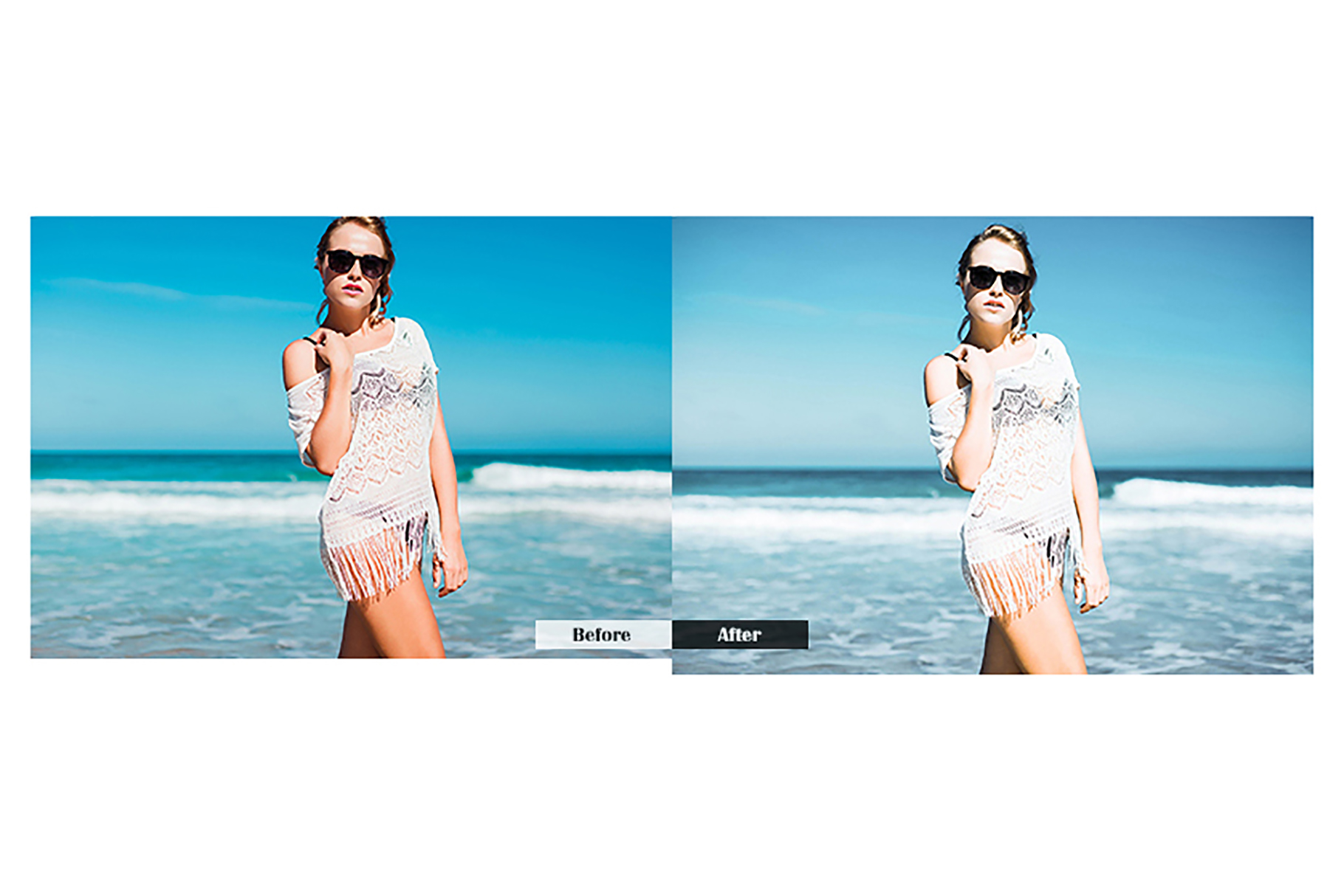 Beach Lightroom Presets Mobile Presets example image 4