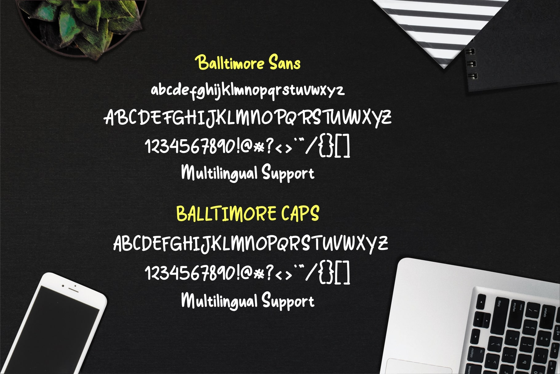 Balltimore Sans // Handlettering Sans example image 9