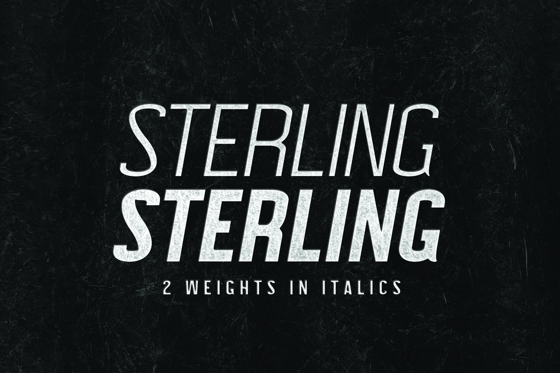 STERLING, A Powerful Sans Serif example image 4