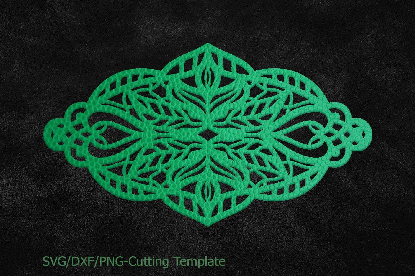 Cuff Bracelet Leather Jewelry Template Design Bundles