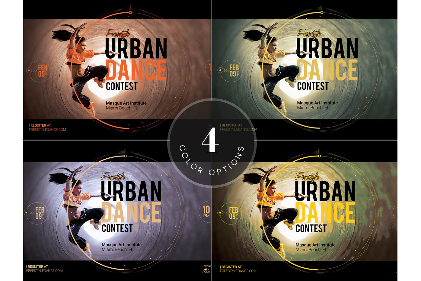 Dance Contest Flyer Template example image 4