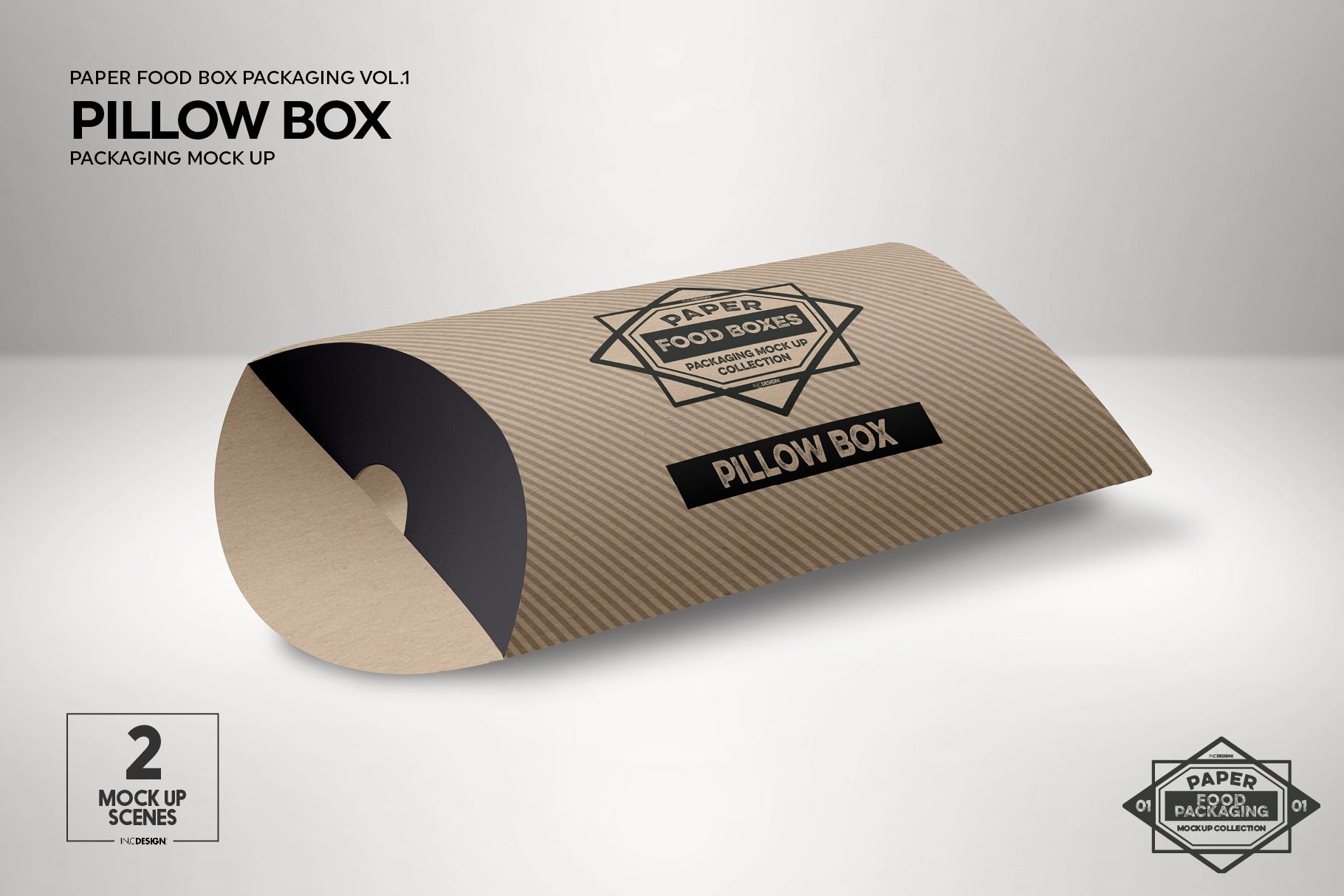 VOL.1 Food Box Packaging MockUps example image 15