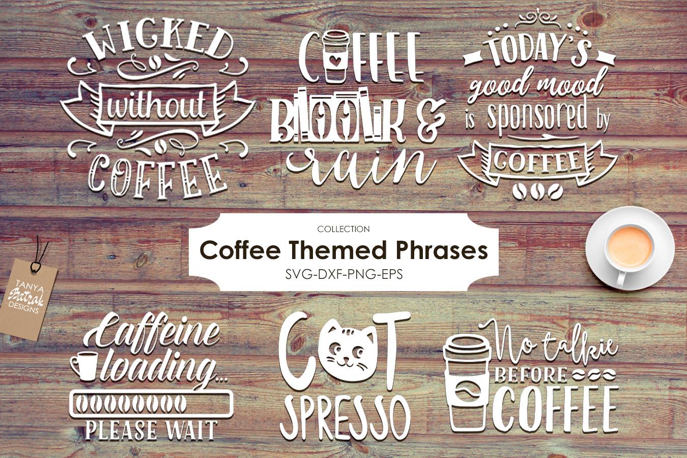 Coffee Themed Bundle example image 1