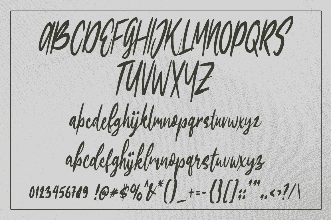 Edigtor - Rough Script example image 4