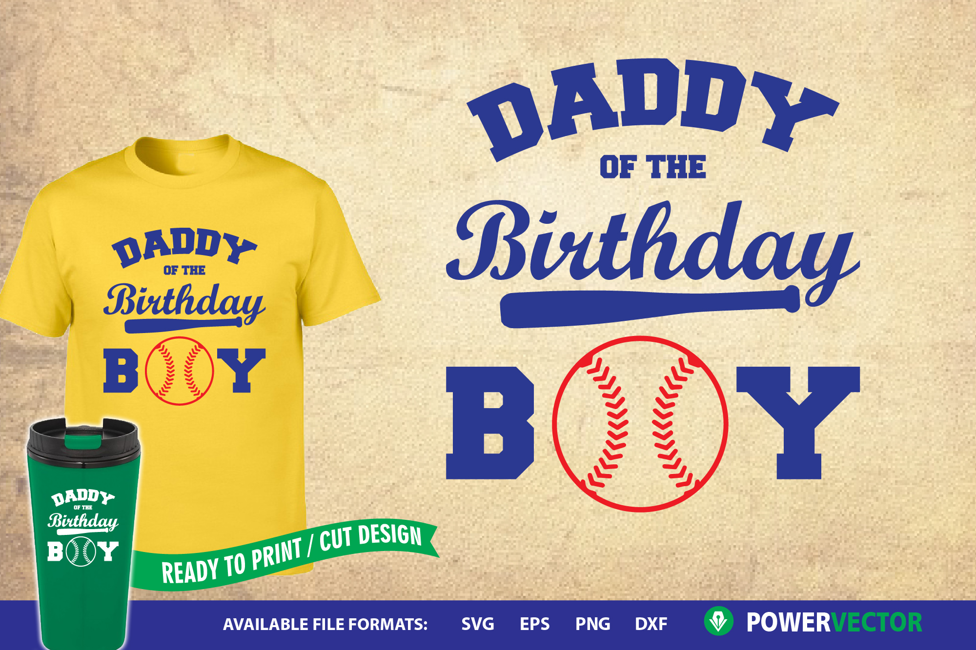 Daddy of the Birthday Boy|Kids Birthday Party Shirt Svg example image 1