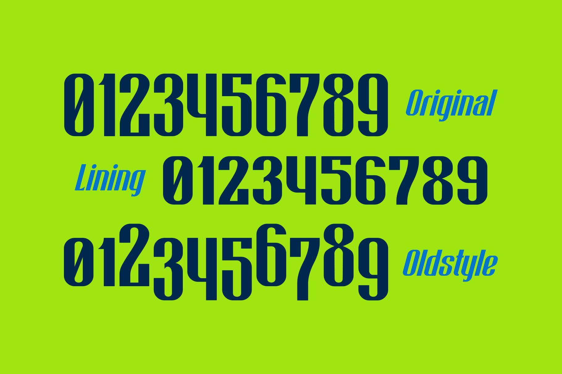 Bigiebang Condensed Font example image 6