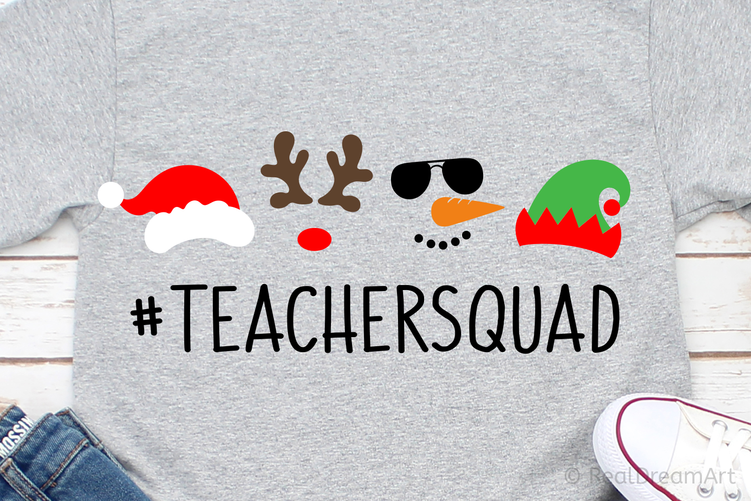 Teacher Squad SVG, DXF, PNG, EPS example image 1
