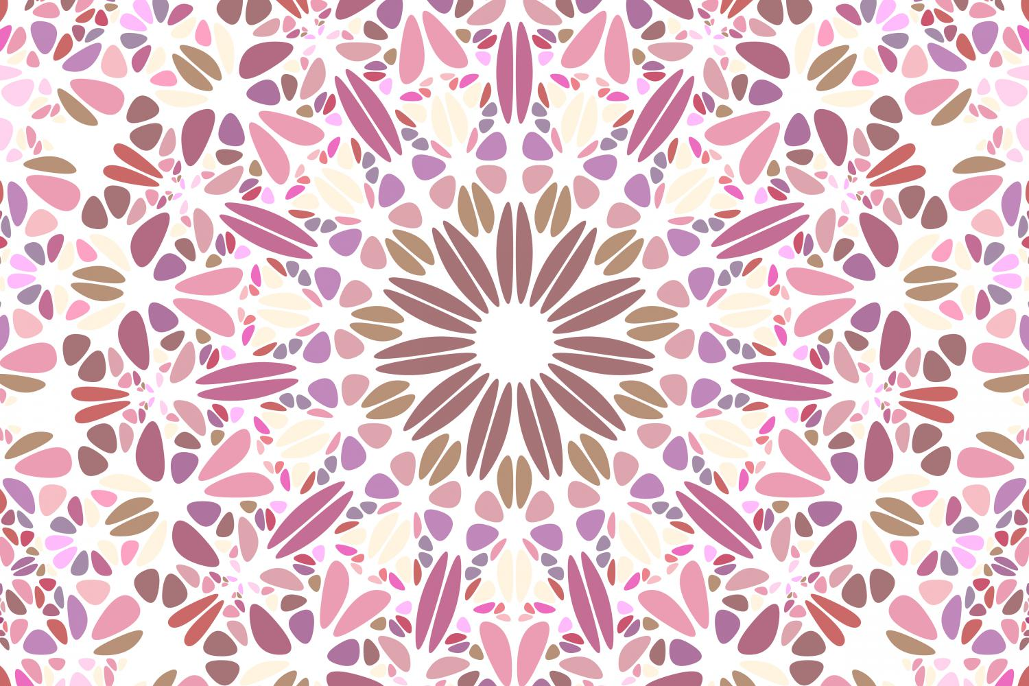 48 Floral Mandala Backgrounds example image 6