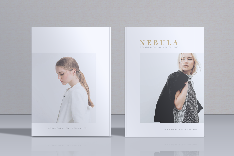NEBULA Minimal Lookbook Magazine Styles example image 1