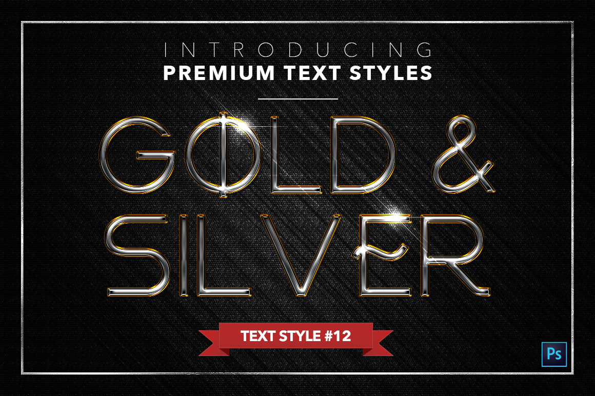 Gold & Silver #3 - 15 Text Styles example image 8