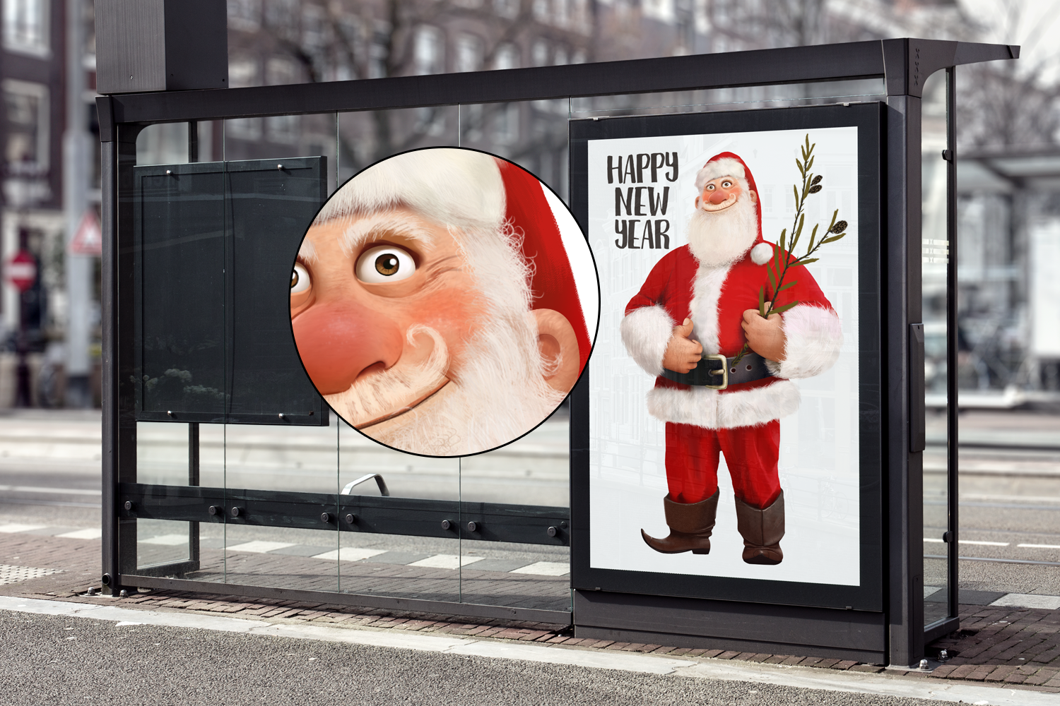 Cool Santa example image 3