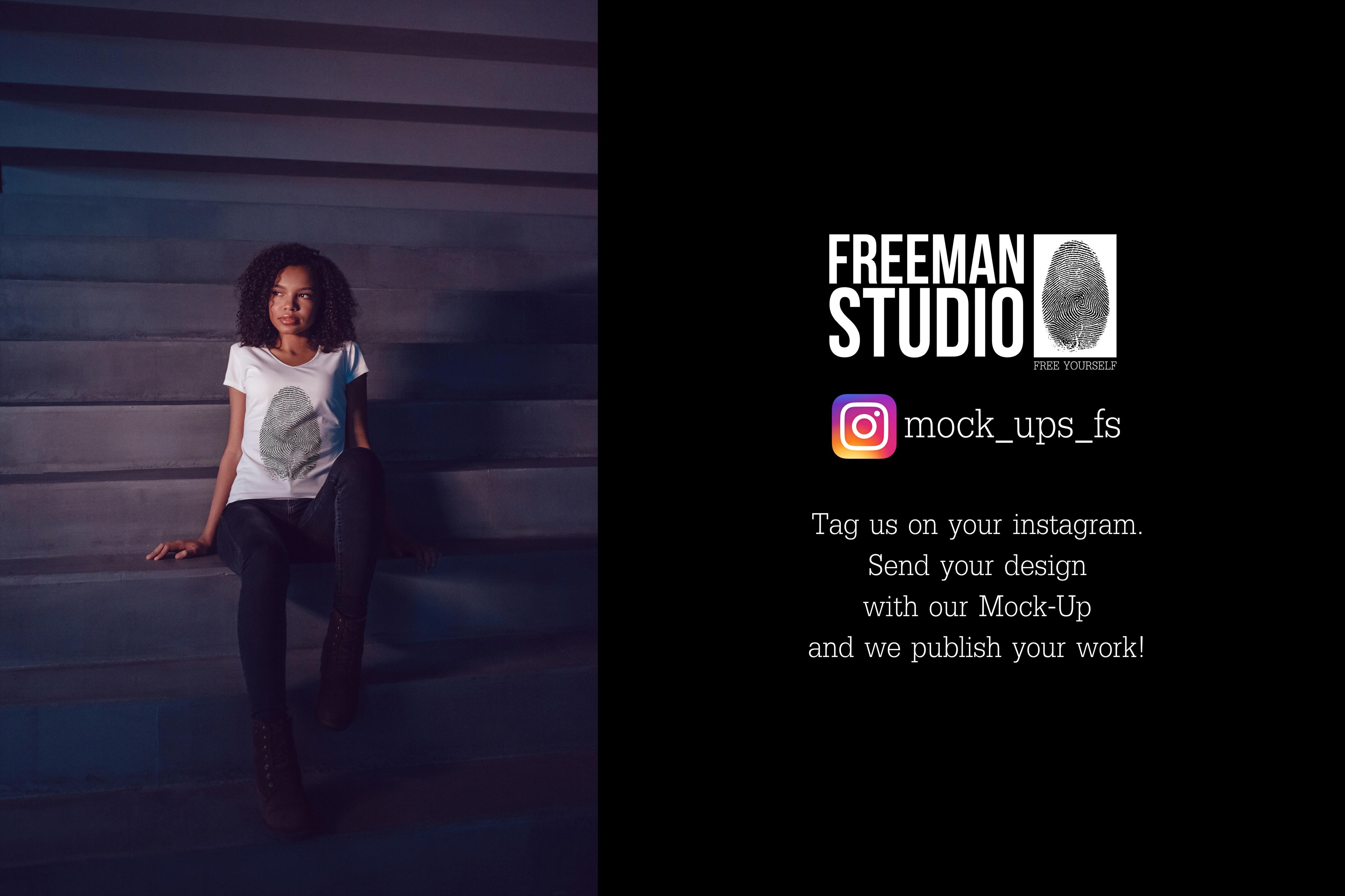 T-Shirt Mock-Up Vol.20 2017 example image 26