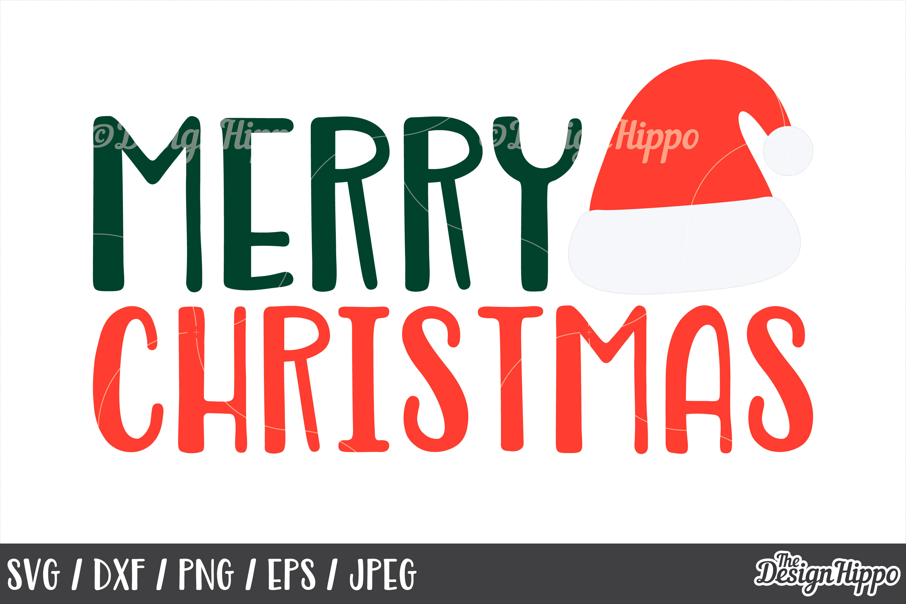 Merry Christmas SVG Bundle, Christmas SVG, PNG, DXF Cut File example image 8