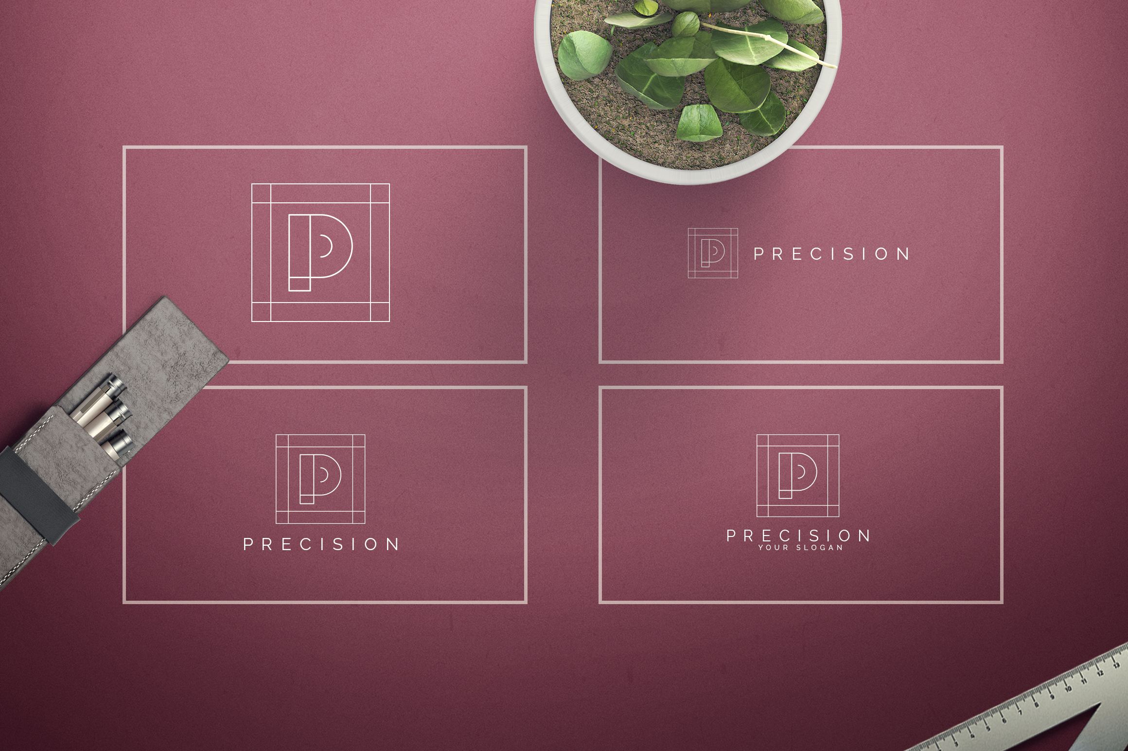 Geometric Letters and Logo Designs example image 17