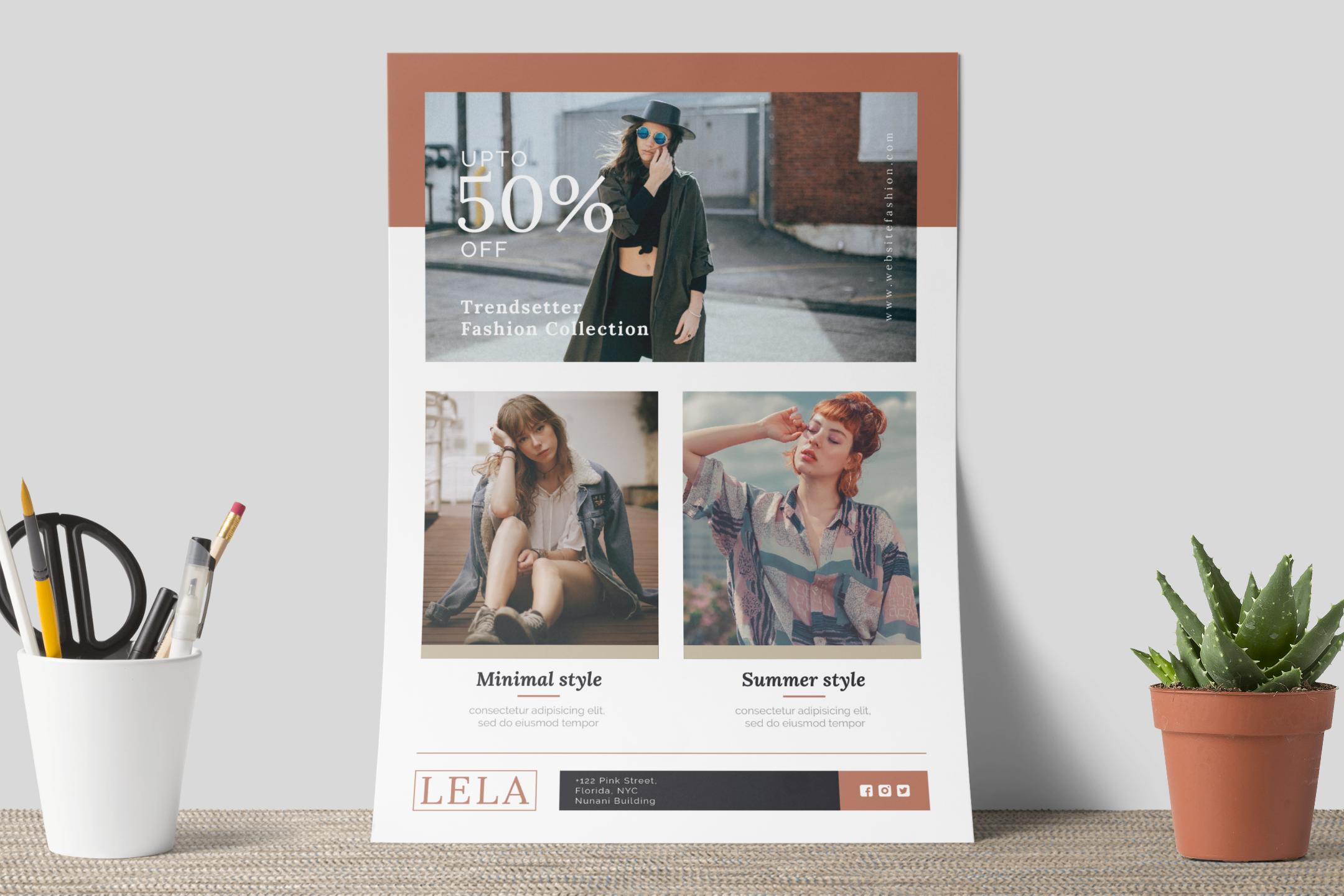 Fashion flyer example image 9