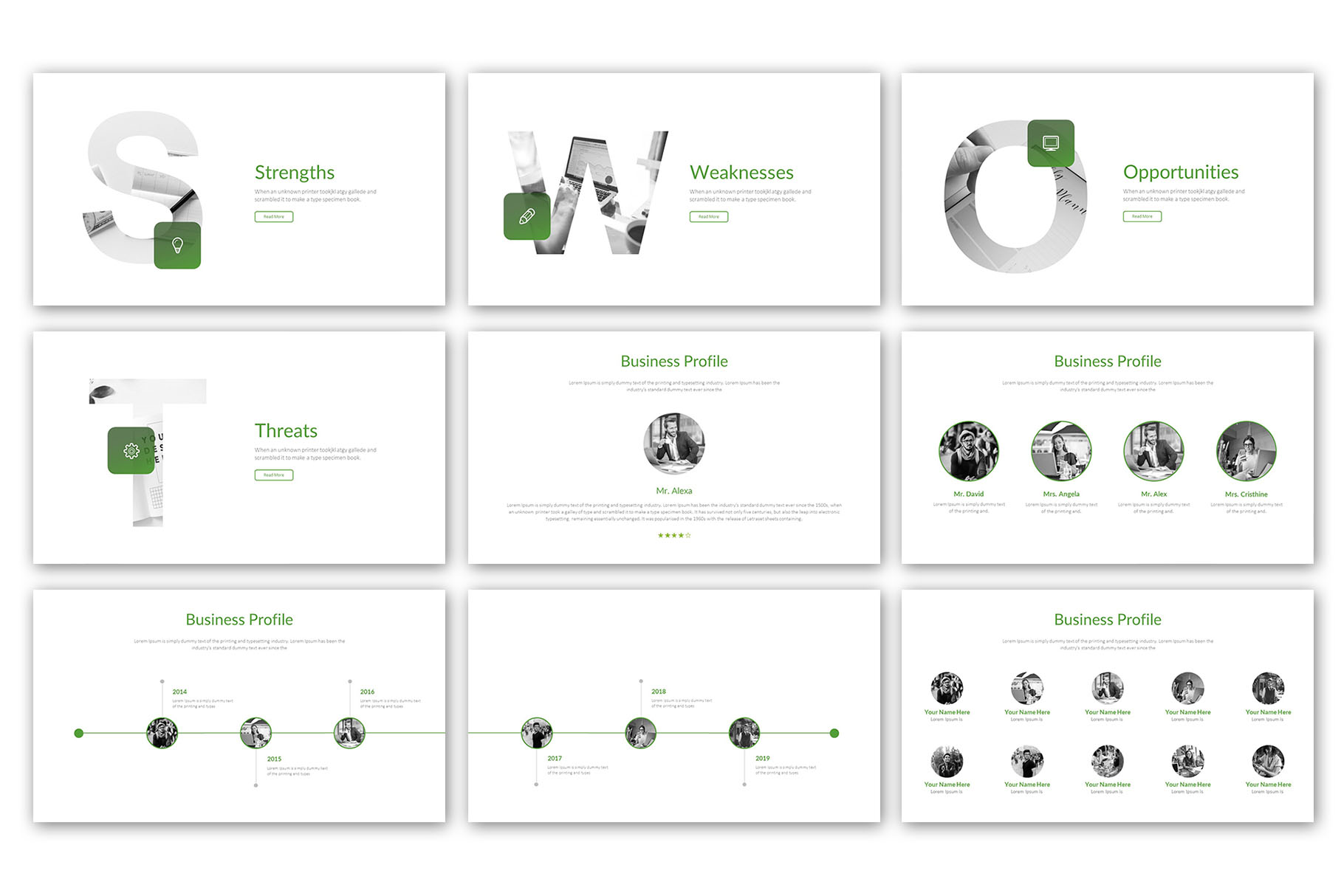 Modern Business Presentation Template example image 7