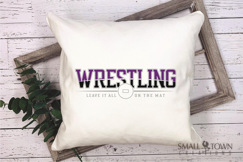 Wrestling, Headgear, Team, Sports, Logo, PRINT, CUT & DESIGN example image 3