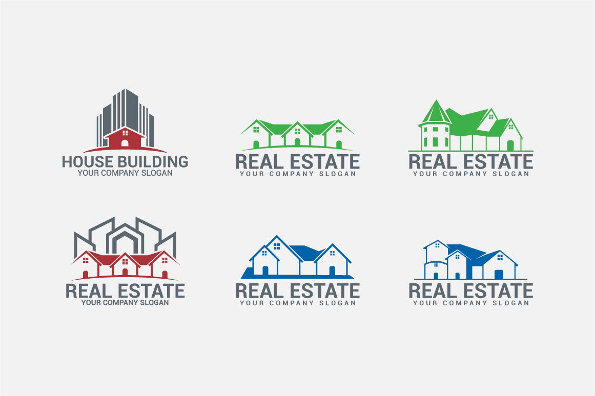 Real Estate Logo & Badges example image 3