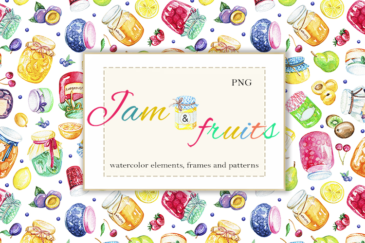 Jams & fruits example image 1