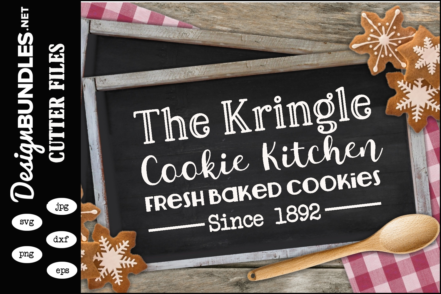 The Kringle Cookie Collection SVG example image 1