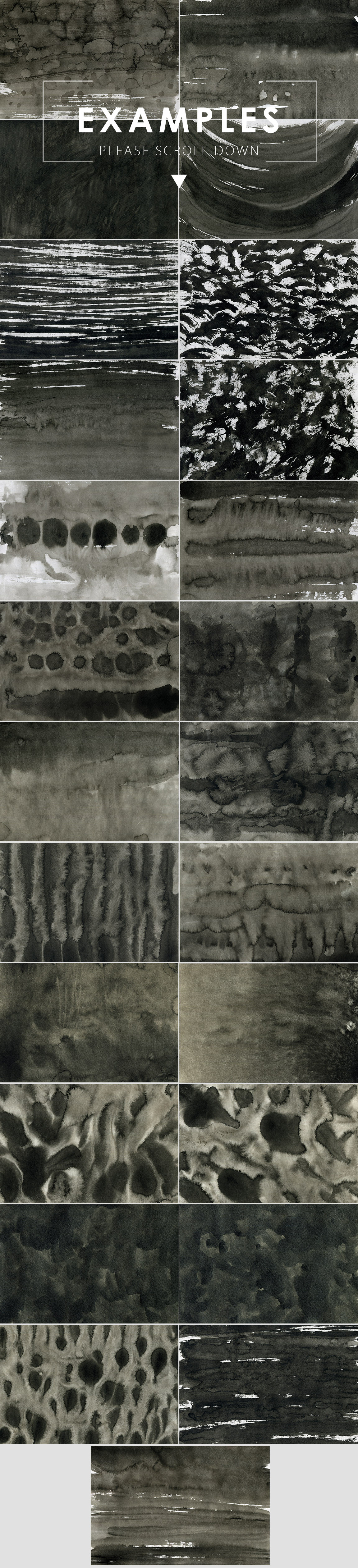 Only Ink & Marble Backgrounds Bundle example image 14