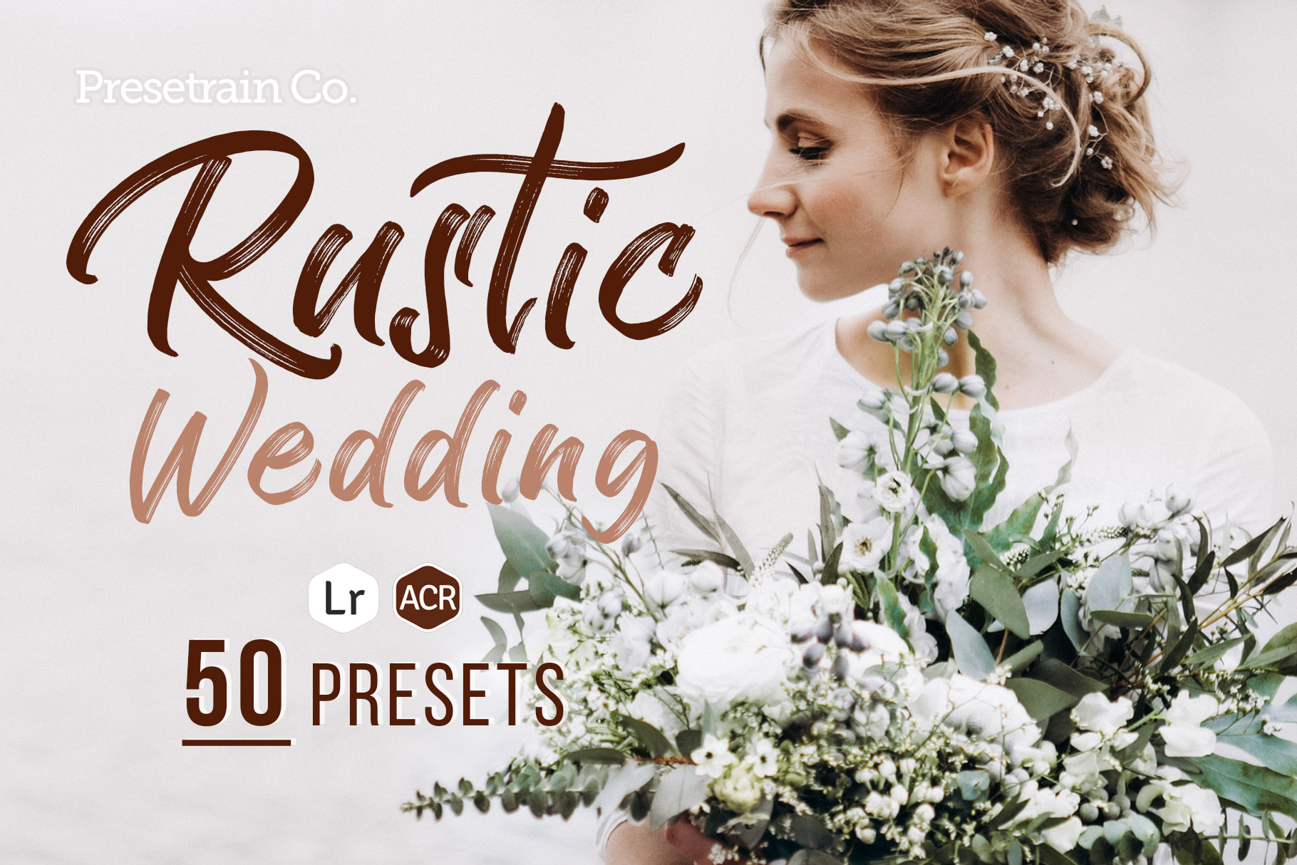 50 Rustic Wedding Presets for Lightroom & ACR example image 1