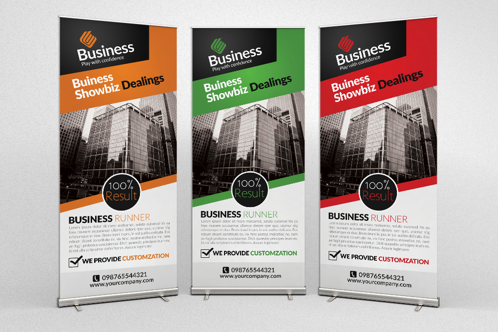 Creative Business Roll Up Banners example image 1