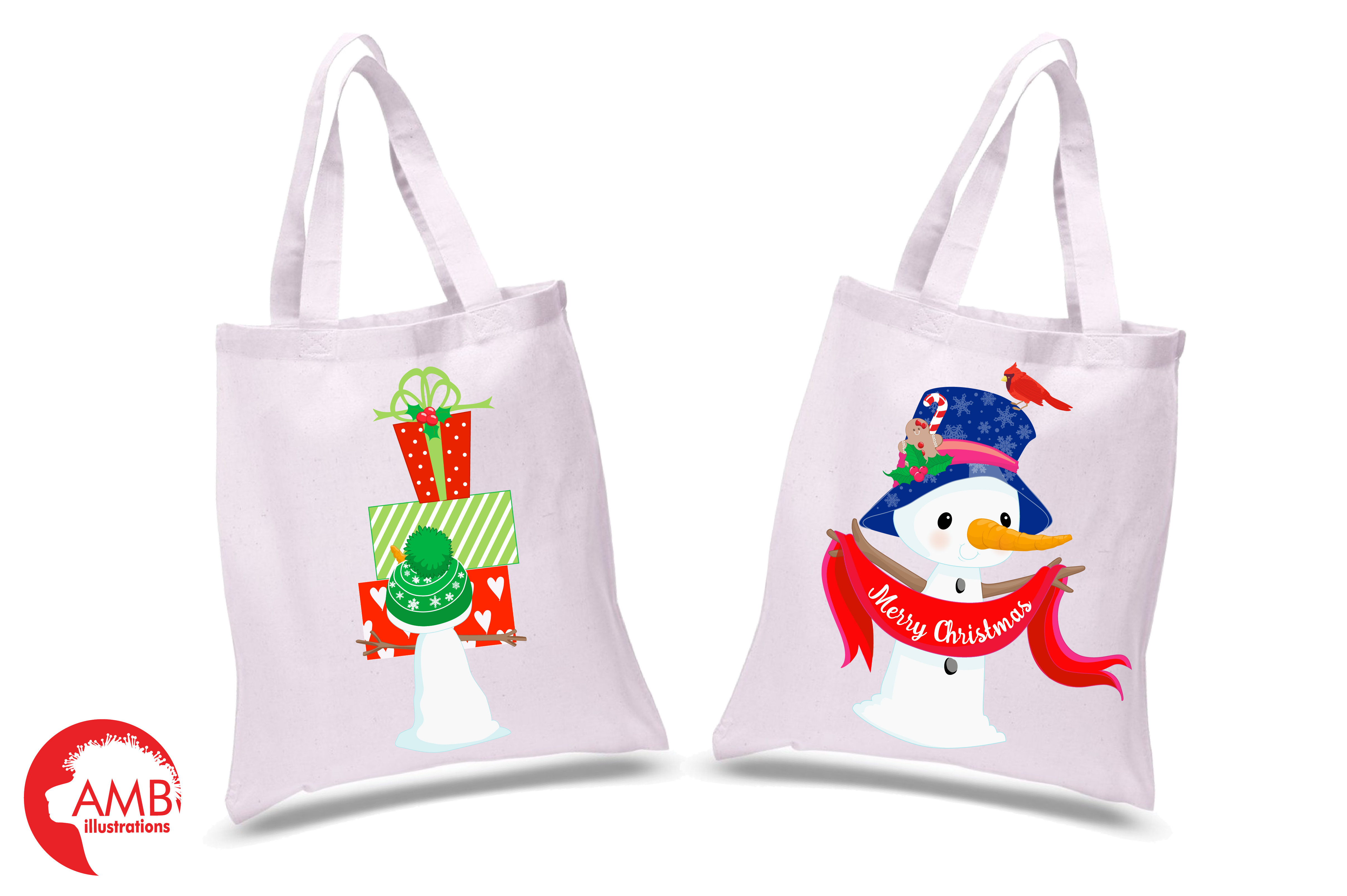 Snowman Clipart, Christmas Clipart, Frosty the Snowmen Clipart, Snowman Family, Snowman Clipart, AMB-1512clipart, graphics, illustrations AMB-1512 example image 2
