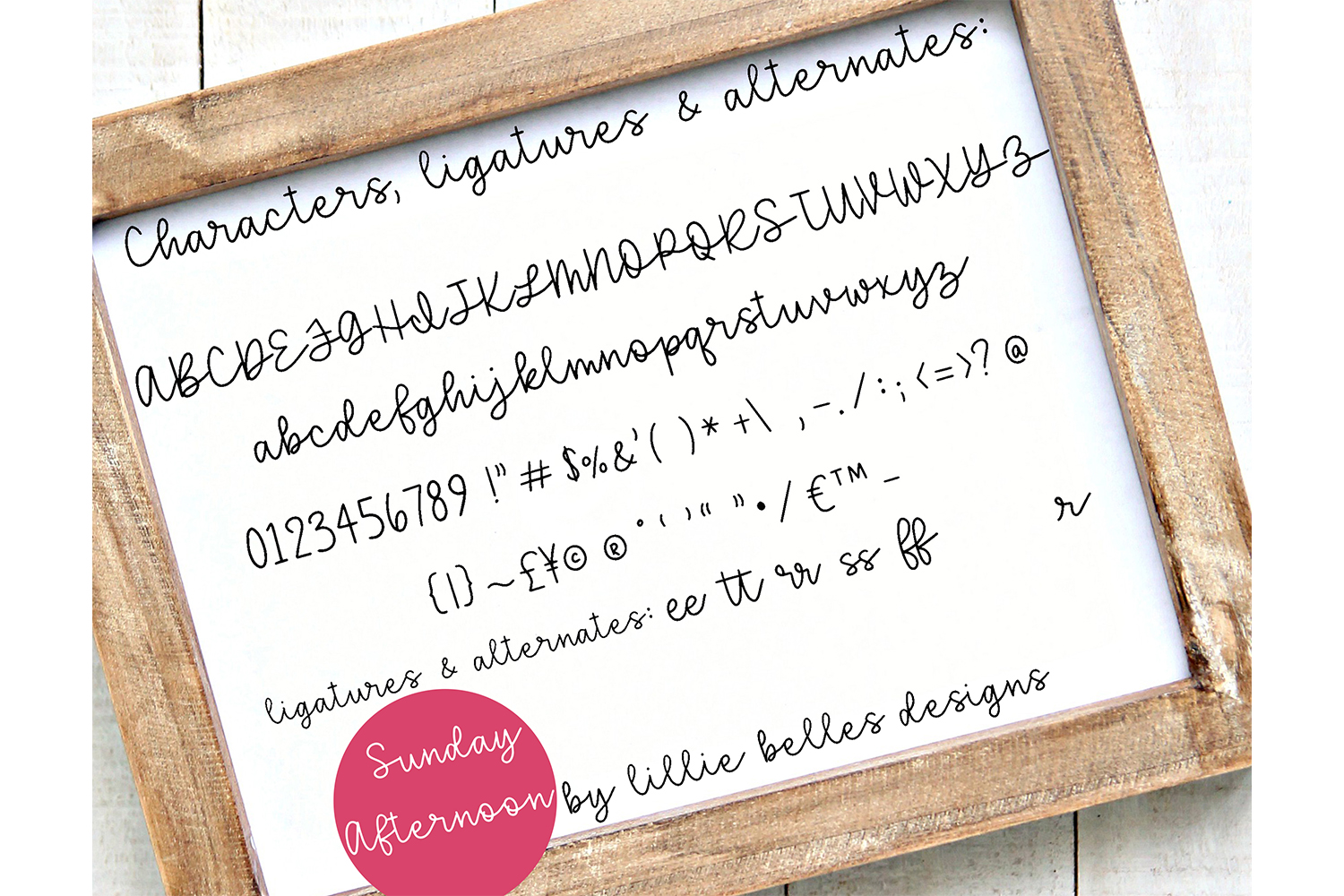 Handwritten Fonts bundle example image 6