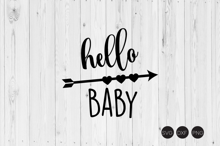 Hello Baby SVG example image 1