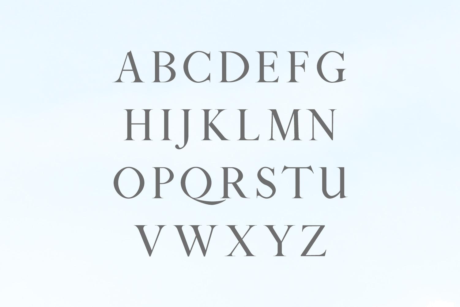 Sandover Serif Font Family example image 2