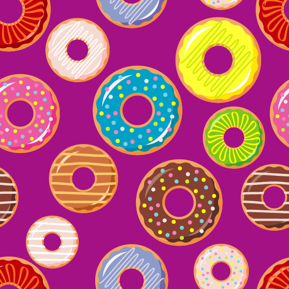 Collection Of Donuts example image 7