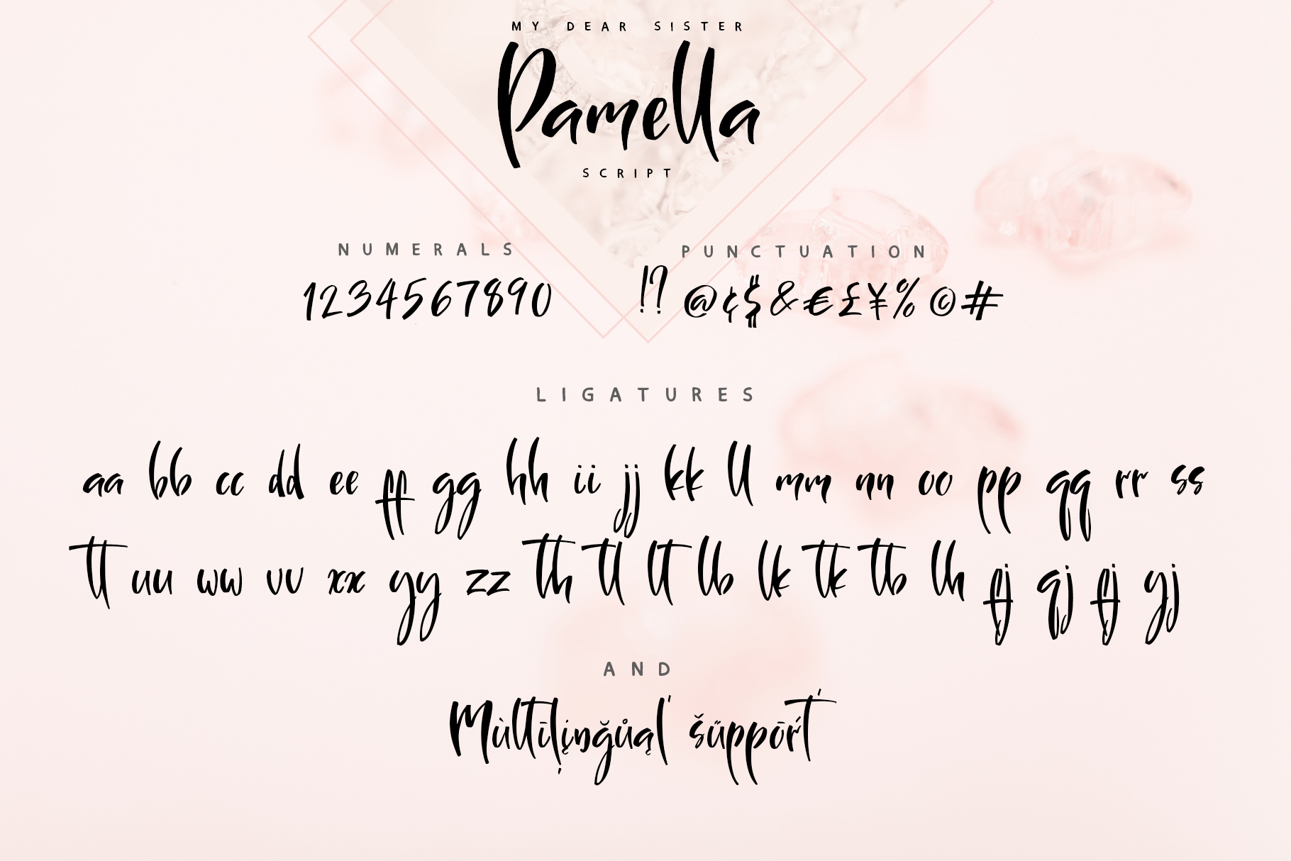 Sister Pamella Font Duo example image 15