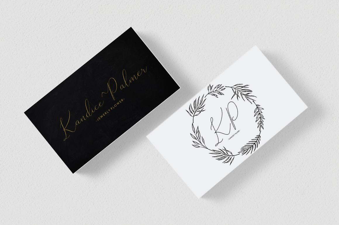 Rishella Signature Font example image 3