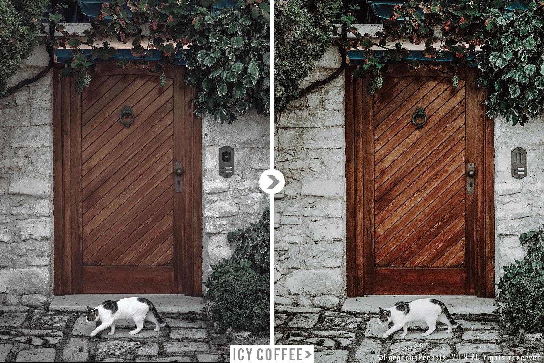 Mobile Lightroom Preset ICY COFFEE example image 2