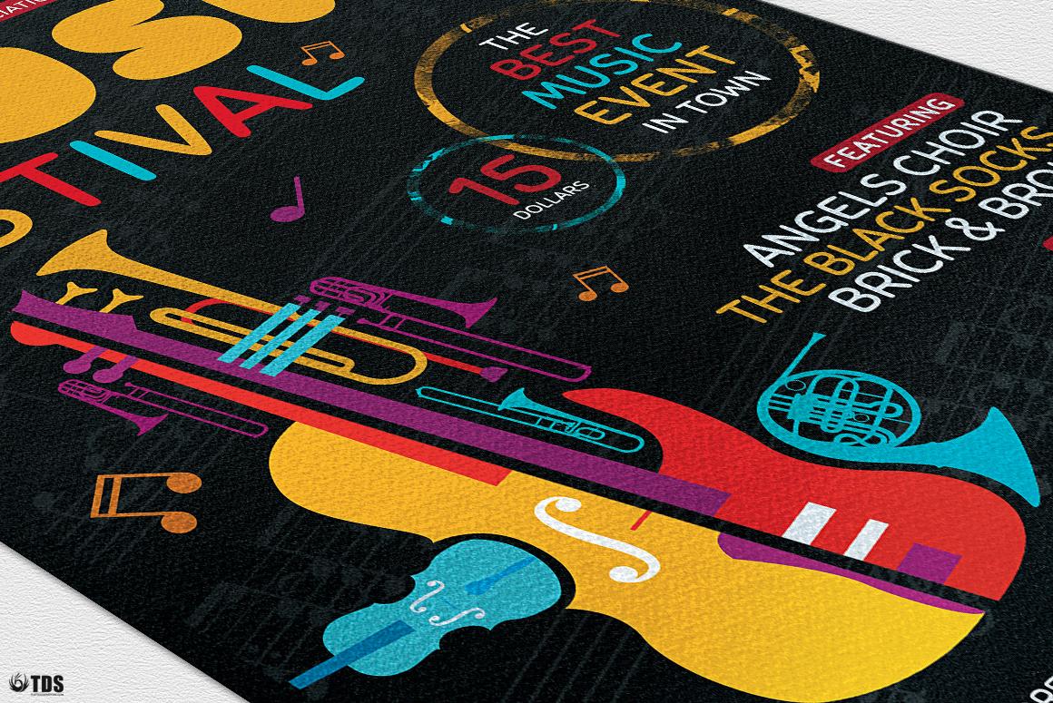 Music Festival Flyer Template V10 example image 6