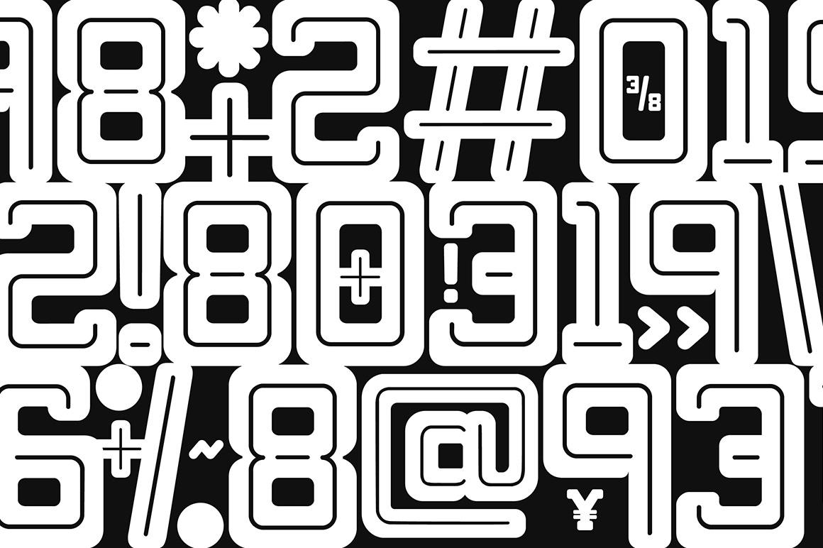 Bebop Slab Serif Font Family example image 5