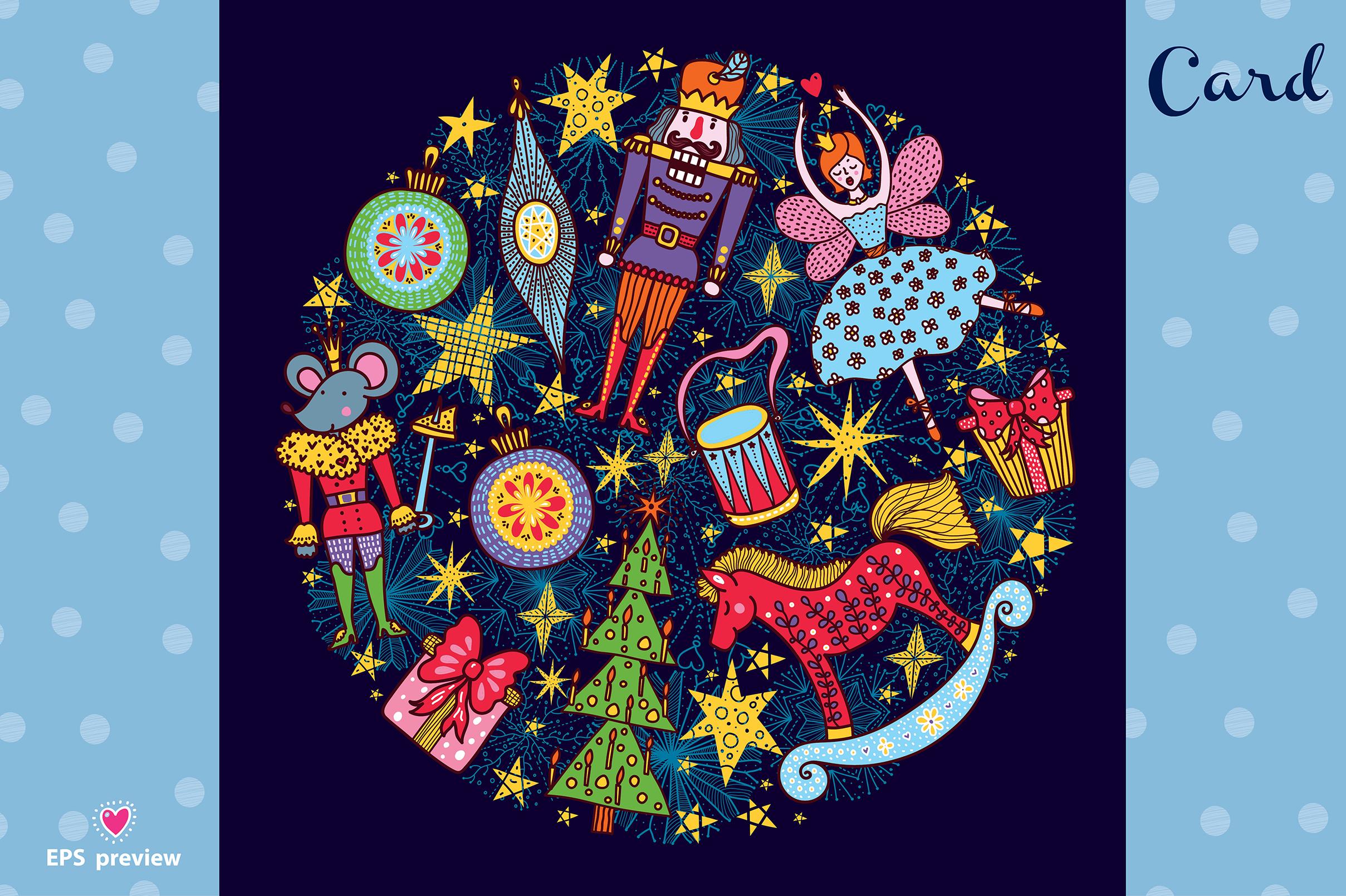 Nutcracker. Christmas story. example image 17