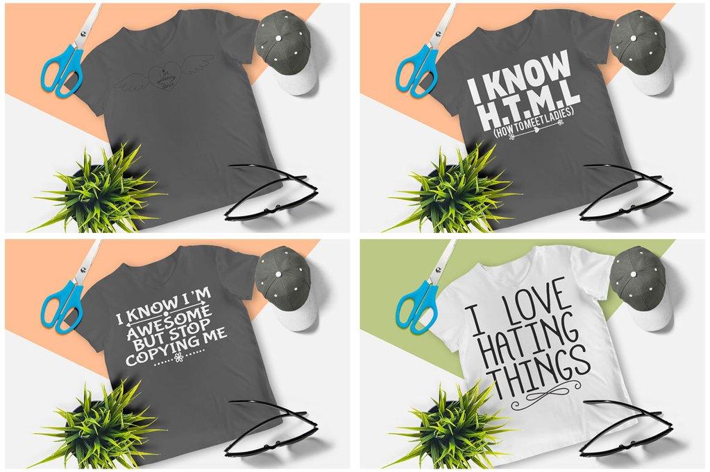 200 Printready Tshirt Design Mega Bundle example image 23