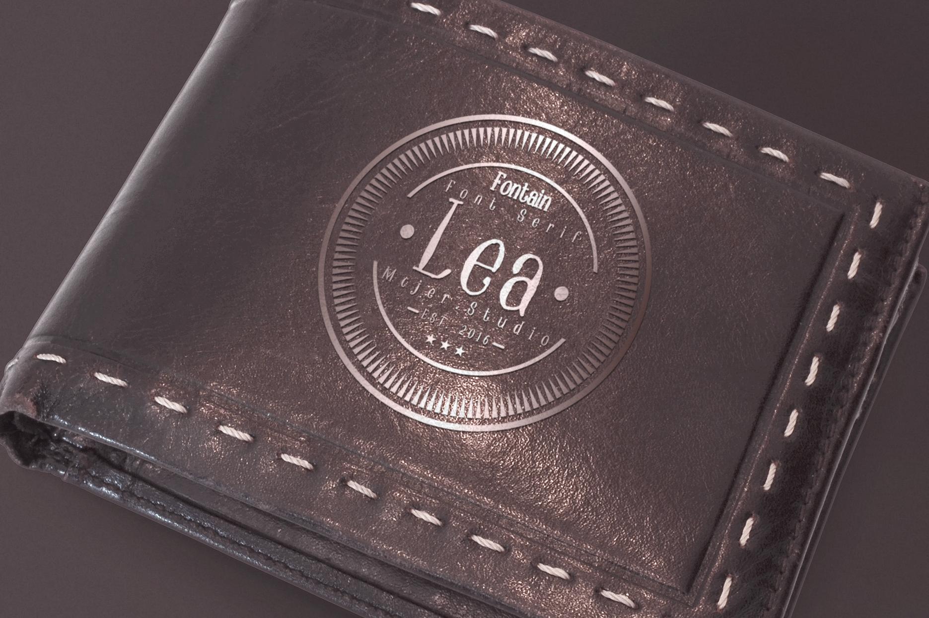 Lea Serif example image 4