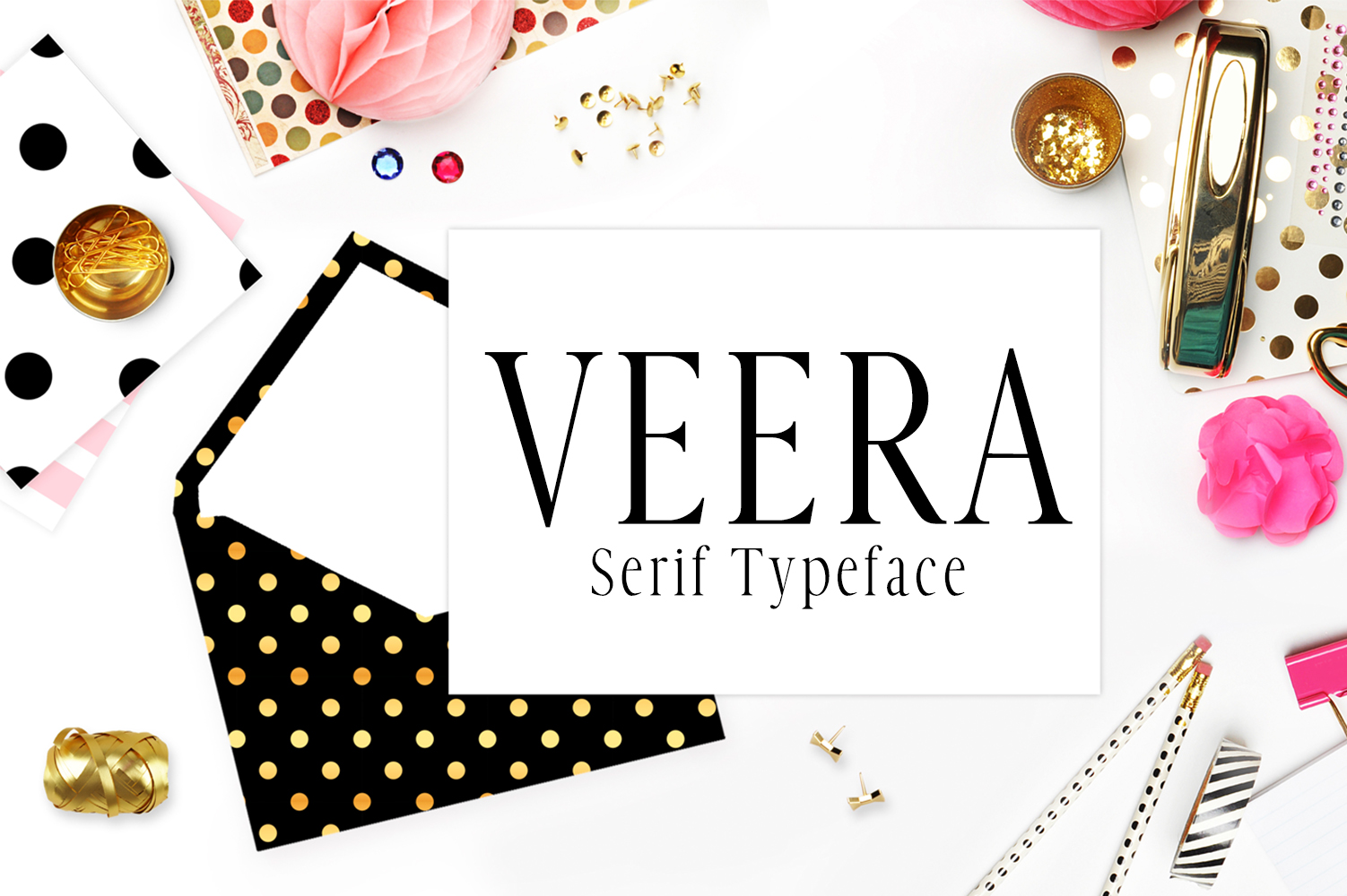 Veera Serif Typeface example image 1
