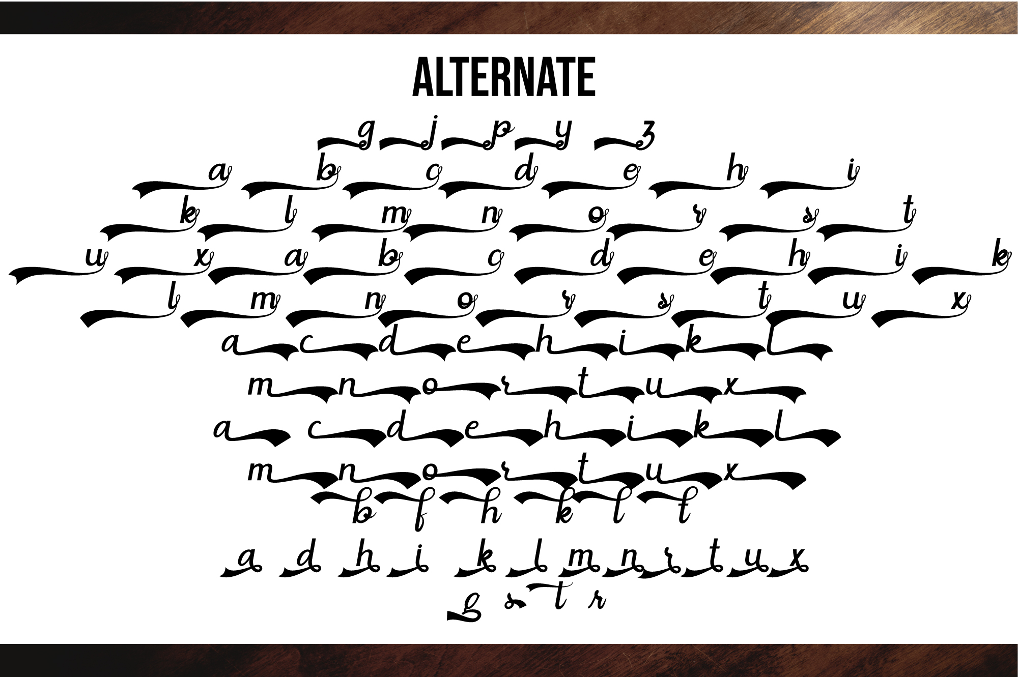 Situgintu Calligraphy example image 6