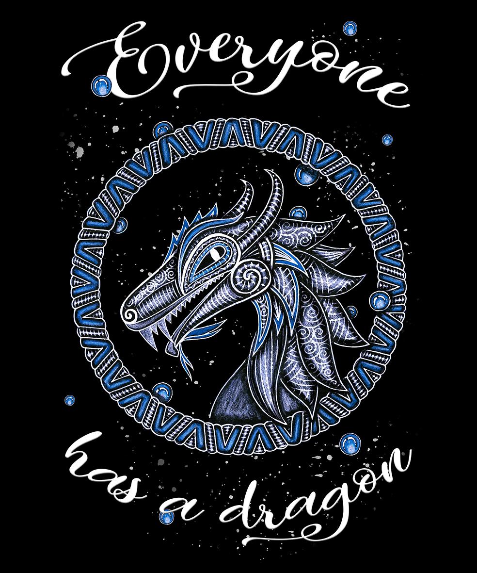 Zendoodle / Boho Dragon example image 2