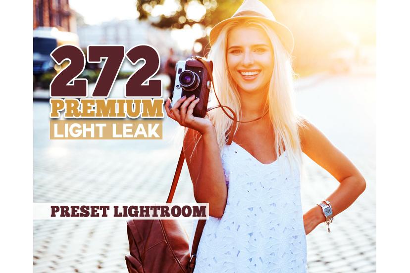 272 Premium Light Leak Lightroom Presets (Presets for Lightroom 5,6,CC) example image 1