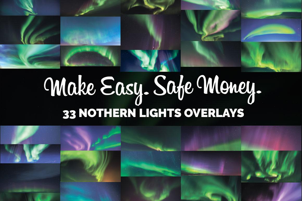 33 Aurora Borealis Photo Overlays example image 3