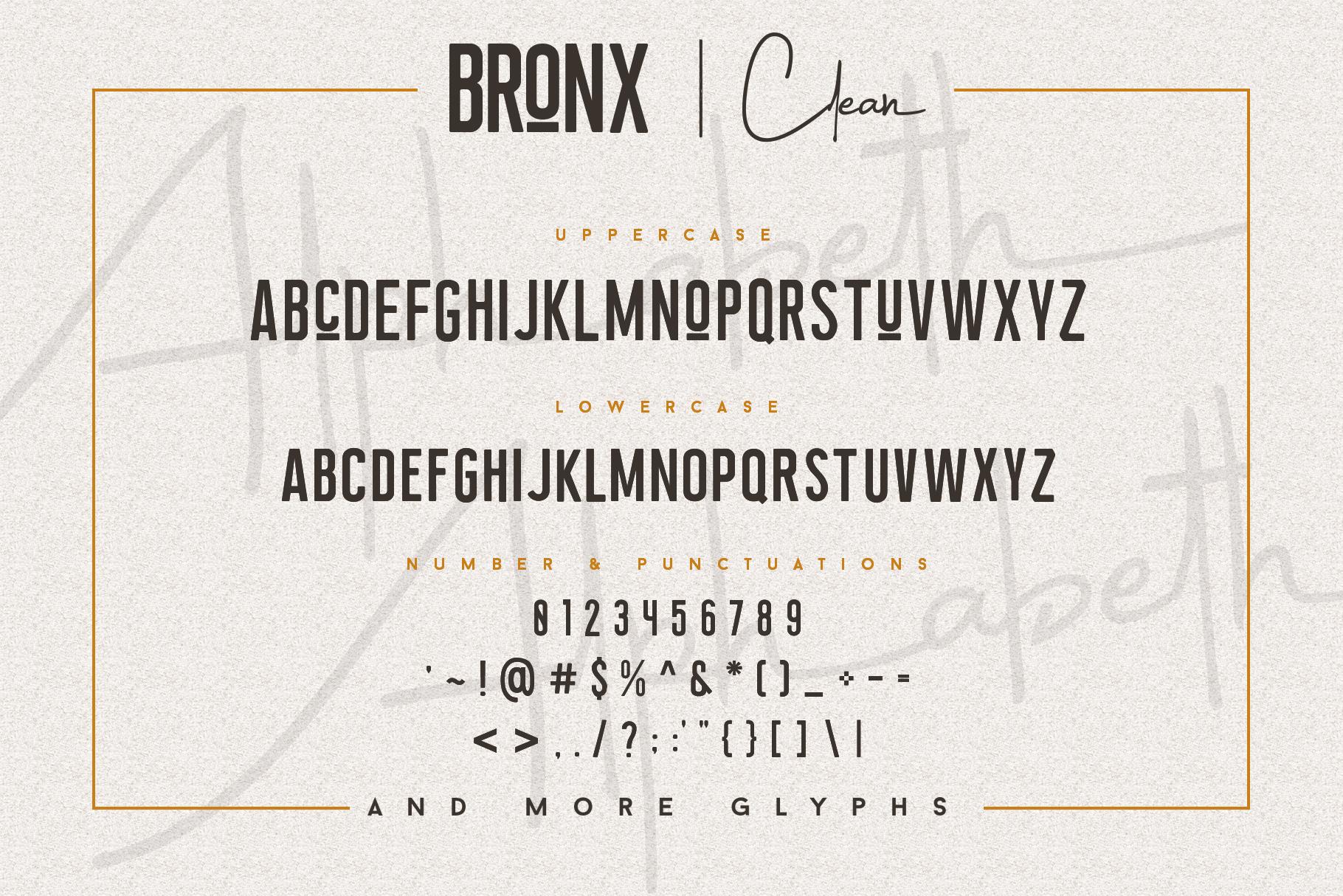 Bronx Simpul Sans-Script Font Duo example image 12