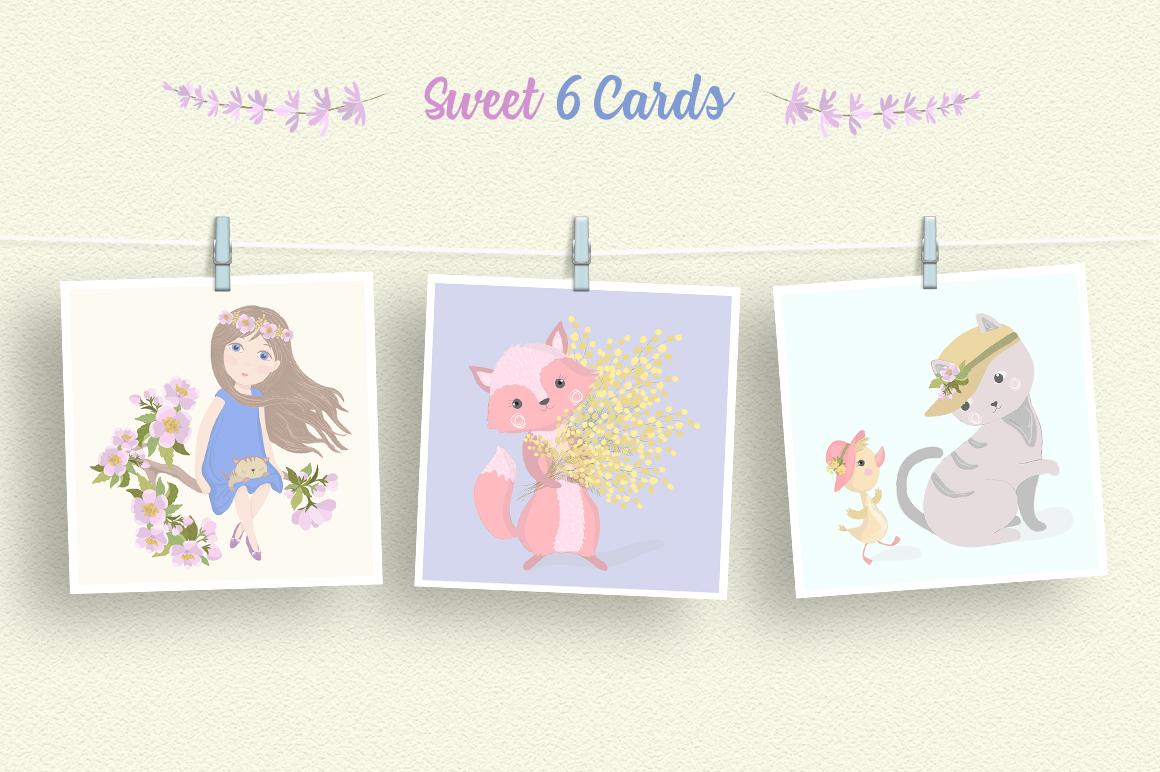 Hello Spring Illustration Set example image 3